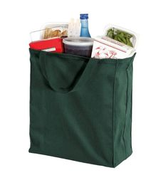 Heavy Duty Shopping Grocery Canvas Boat Tote by MyBagsShop on Etsy