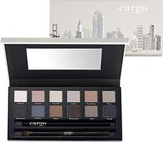 Cargo Cosmetics - the Essentials Eye Shadow Palette Influenced by the hues of urban architecture, the palette features 12 better-than-neutral shades to flatter the eyes, season after season. High Pigment Eyeshadow, Eyeshadow Brushes, Eyeshadow Palette, Makeup Palette, Cargo Cosmetics, Makeup Cosmetics, Black Eyeliner Pencil, Beauty Bay, Top Beauty