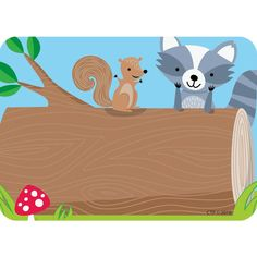 Label Your Classroom With Adorable Woodland Friends