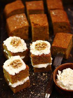 Ciasto marchewkowe #słodkości #smakołyk #deser #przekąska #zdrowe #przepisy #ciasto #marchewka #mascarpone #orzechy #POLOmarket