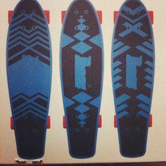Penny Skateboards custom griptape