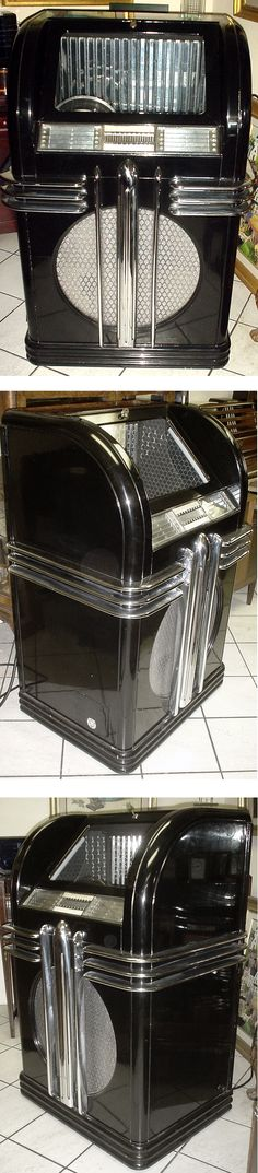 1937 Lacquered Deco Jukebox, Automatic Instrument Company, One of a Kind