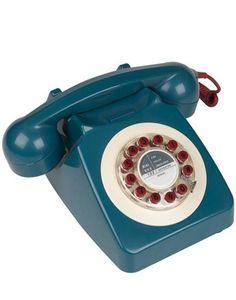 john lewis retro telephone 65