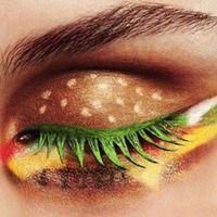 cheeseburger eyeshadow? @Erin Wynkoop-please next time I see you!