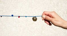 Solar System Bead Activity – Create a scale model of the solar system using beads and string.  ACTIVITY DETAILS: Grades 1-6 | Subjects: Science, Math | Topics: Solar System; Earth and Space Science; Earth, Moon and Sun; Measurement | Types: Classroom Activity, Model, Project | Visit the lesson page for NGSS and Common Core Math standards