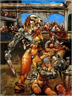 Fantasy Art of Simon Bisley Dark Fantasy Art, Fantasy Women, Fantasy Girl, Fantasy Artwork, Simon Bisley, Arte Heavy Metal, Boris Vallejo, Frank Frazetta, William Turner
