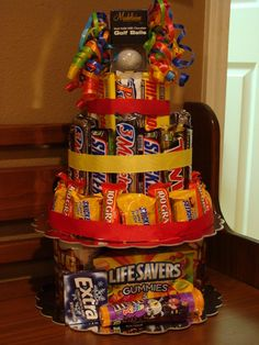 Candy Bar Cake : Gallery : A Cherry On Top