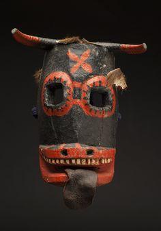 Regional Masks Mexico - Guerrero - Devil Mask,...