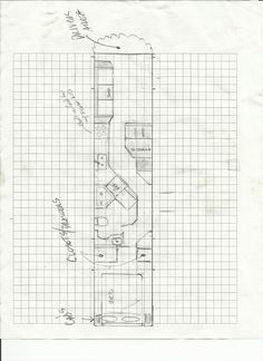 The floor plan I would use for a bus to RV conversion.