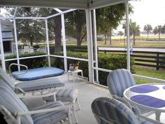 This ranch with 3 bedrooms is selling for $158,500.  It has a Lanai and a mansard with an in-ground hot tub.  bond balance either 1000 or 1700.
