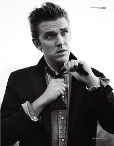 Dan Stevens (Mathew Crawley en Downton Abbey), el hombre más estiloso de 2013 en Gran Bretaña según GQ #modahombre