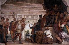 Paolo Veronese St Sebastian Reproving Diocletian 1558