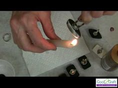 How to Make a Burned Glue Ring by Tiffany Windsor