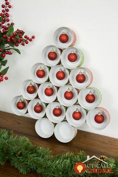 Recycled Tin Can Christmas Tree christmas christmas tree christmas decorations christmas decorating christmas diy decor diy christmas ideas christmas decoration ideas diy christmas crafts christmas diy projects christmas home ideas Elegant Christmas Decor, Cute Christmas Tree, Dollar Store Christmas, All Things Christmas, Christmas Decorations, Christmas Ornaments, Desk Decorations, Xmas Tree, Tin Can Crafts