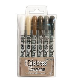 These crayons are formulated to achieve vibrant coloring effects on porous surfaces for mixed media. Ideal for creating brilliant backgrounds, watercoloring, smudge effects and more. This package cont