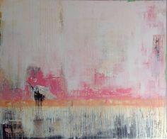"""Saatchi Art Artist Hennie van de Lande; Painting, """"Just look at it and feel (SOLD)"""" #art"""