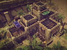 Bildergebnis für minecraft desert city