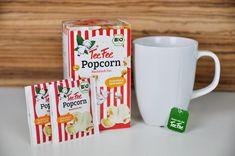Zaubert jede Menge Spaß in die Tasse  – von dem neuen Nachtischtee, der nach knusprig süßem Popcorn schmeckt, sind nicht nur kleine Teetrinker begeistert.