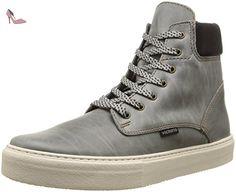 Victoria 125005, Chaussures hautes Classiques mixte adulte, Gris (Antracita), 36 EU - Chaussures victoria (*Partner-Link)