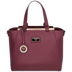 Pre-owned Burgundy Satchel ($199) ❤ liked on Polyvore featuring bags, handbags, burgundy, man bag, satchel handbags, leather tote bags, leather tote purse and purple leather purse