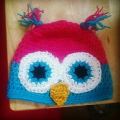Owl hat. Thanks to @repeatcrafterme for inspiration.