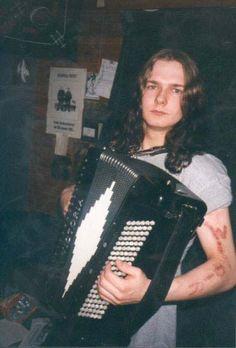"Terje ""Valfar"" Bakken (1978 - 2004) was the lead singer and founder of Windir."