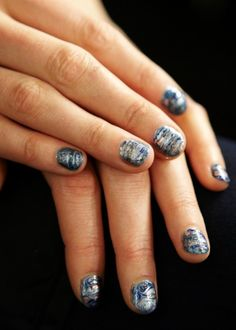 Get the Look: Rebecca Minkoff's Night Sky Nails by essie - The Budget Babe#extended#extended#extended