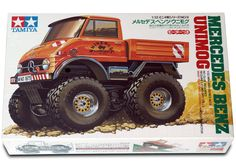 Tamiya 1/32 Mercedes Benz Unimog mini 4wd No.9 Factory Sealed