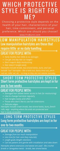 FroBunni   Which Protective Style is Right for Me?