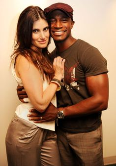 Idina Menzel & Taye Diggs. Super cute :) because I just finished watching RENT for the first time in a long time.