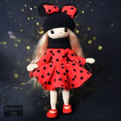 Crochet Doll #sewing #dress for #doll Dolls, Christmas Ornaments, Sewing, Holiday Decor, Crochet, Baby Dolls, Dressmaking, Couture, Puppet