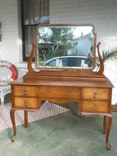 Antique Vintage Dressing Table Dresser Guildford Swan Area image 1