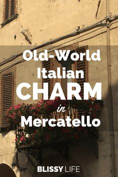 "Mercatello is the epitome of old-world Italian charm! It's quite small, so you can easily walk anywhere you need to go. The residents are so friendly and welcoming – you can expect to be greeted with a ""ciao"" or ""buongiorno"" by strangers you pass on the street."