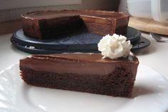 Rýchly čokoládový koláč - Receptik.sk