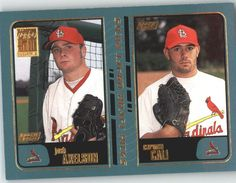 2001 Topps 739 Josh Axelson RC / Carmen Cali RC - St. Louis Cardinals (RC - Rookie Card) (Baseball Cards) * This is an Amazon Affiliate link. See this great product.
