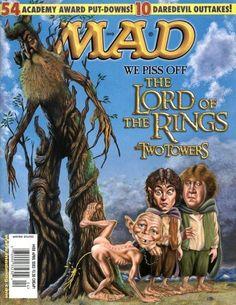 MAD magazine jajaja Hobbit