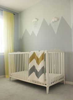 Mountain Mural Nursery Wall More