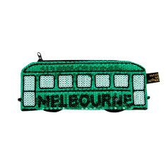 Iconic rumble sequin purse