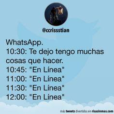 WhatsApp: Te dejo tengo muchas cosas que hacer