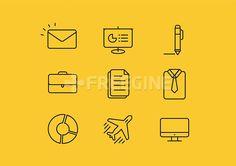 비즈니스, 오브젝트, 가방, 도표, 글로벌, 일러스트, freegine, 라인, 그래프, illust, 기업, 모니터, 아이콘, 발표, 백터…