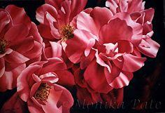 Rose Chorus by Monika Pate Watercolor ~ 28 x 38