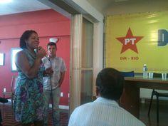 Flavia Pinto participando do Diálogos com os Cariocas sobre Educação. #FlaviaPinto13277