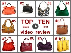 Top10 Amazing Deals on Handbags (March 2014). Learn more https://www.facebook.com/AmazingDailyDealsSite