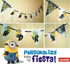 Personalizá tu fiesta !www.facebook.com/identikid