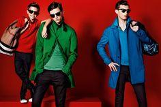 Romeo Beckham, Alex Dunstan and Charlie France for Burberry spring/summer 2013