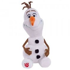 Olaf that won't melt - Build-A-Bear style. Olaf is a character from Frozen. Disney Frozen Olaf, Frozen Frozen, Frozen Toys, Frozen Queen, Queen Elsa, Walt Disney, Olaf Snowman, Build A Snowman, Snowmen