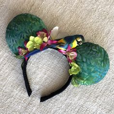 All the birds Sind words and the flowers croon.Excited to share this item from my shop: Enchanted Tiki Room Mouse Ears / Adventureland Ears / Aulani / Disney Jungle Cruise ears Creative Crafts, Diy Crafts, Tiki Room, Tropical Birds, Disney Ears, Mouse Ears, Grosgrain Ribbon, Shades Of Blue, Disney Cruise