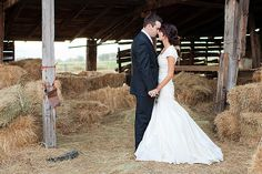 Country Wedding in a barn! :) @Haley Schrimsher