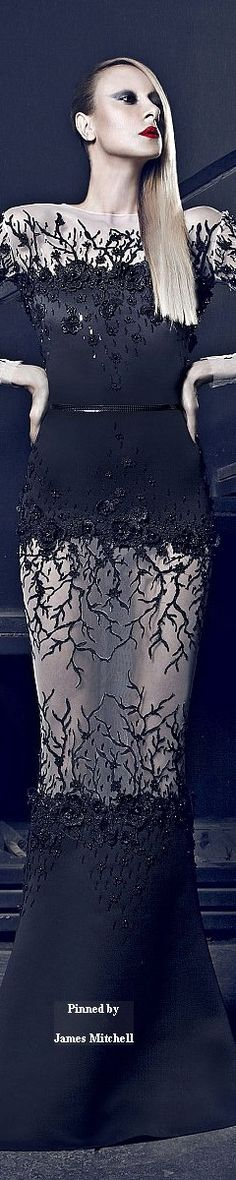 Nicolas Jebran Couture Fall-winter 2014-2015