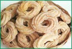 Biscoito samanta, Receita Petitchef Cookies, Onion Rings, Dessert Recipes, Desserts, Apple Pie, Biscuits, Good Food, Cake, Ethnic Recipes